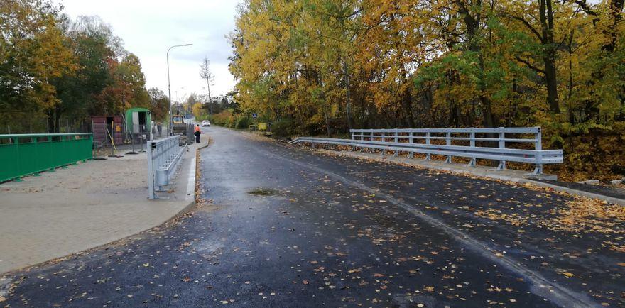 Jelenia Góra: Most na Mickiewicza przejezdny