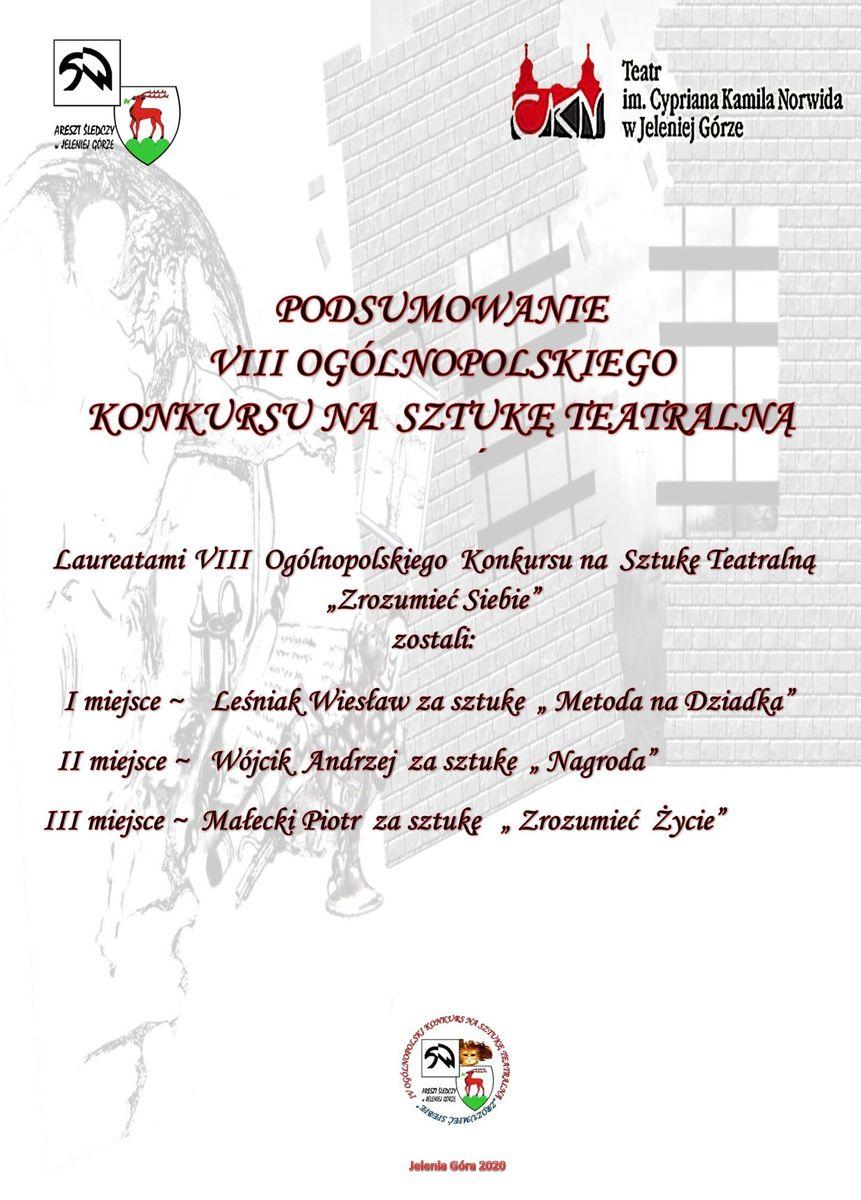 Jelenia Góra: Konkurs literacki dla osadzonych