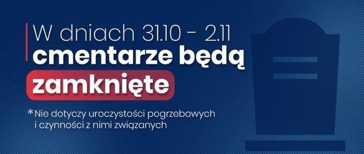 Polska: Zamknięte cmentarze
