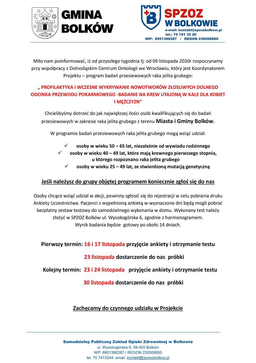 Gmina Bolków: Wkrótce współpraca ws. profilaktyki nowotworów