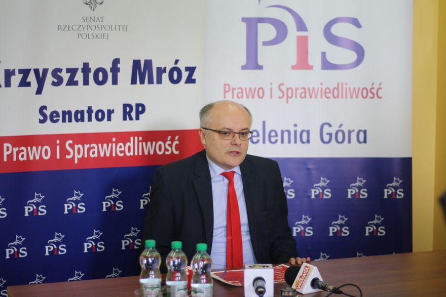 Jelenia Góra: Apel senatora Krzysztofa Mroza ws. planowanego protestu