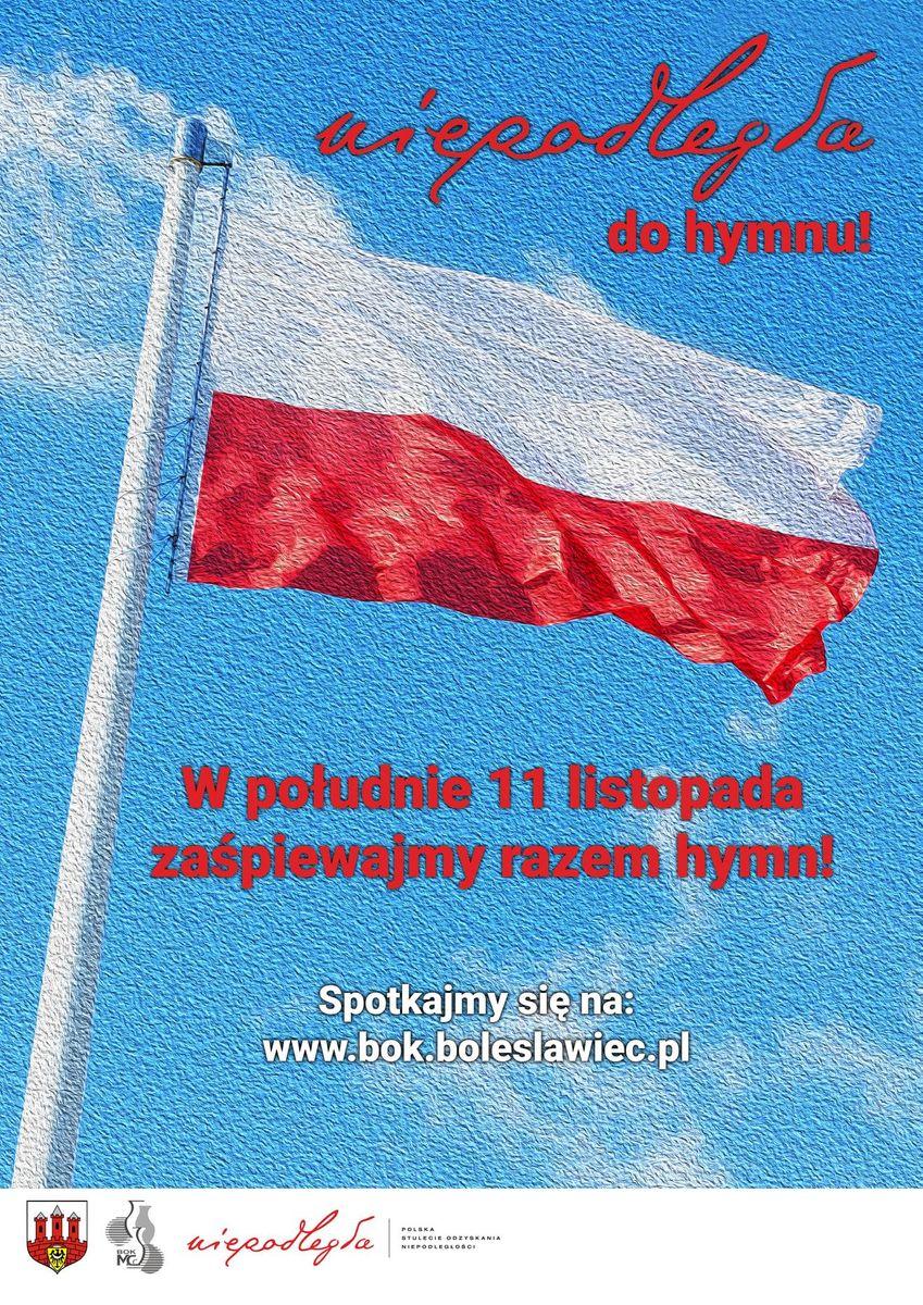 Bolesławiec: Niepodległa do hymnu