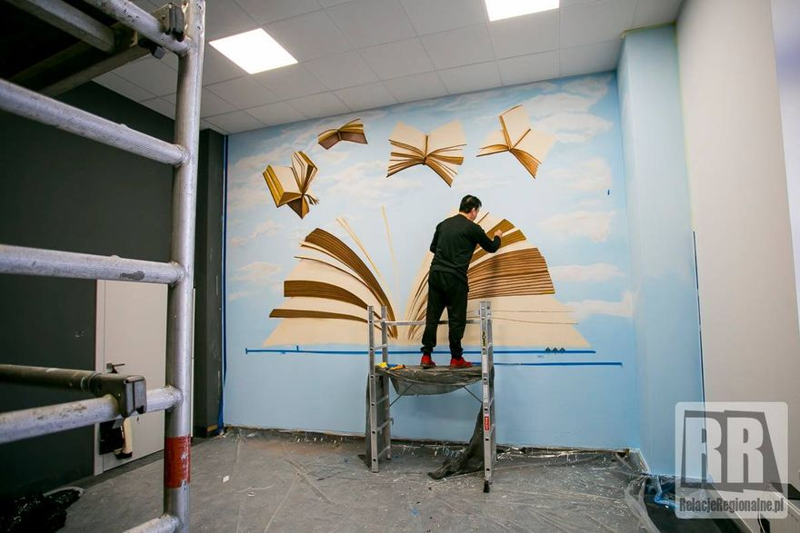 Kamienna Góra: Trwa remont biblioteki