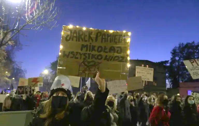 Jelenia Góra: Strajk kobiet nie ustaje