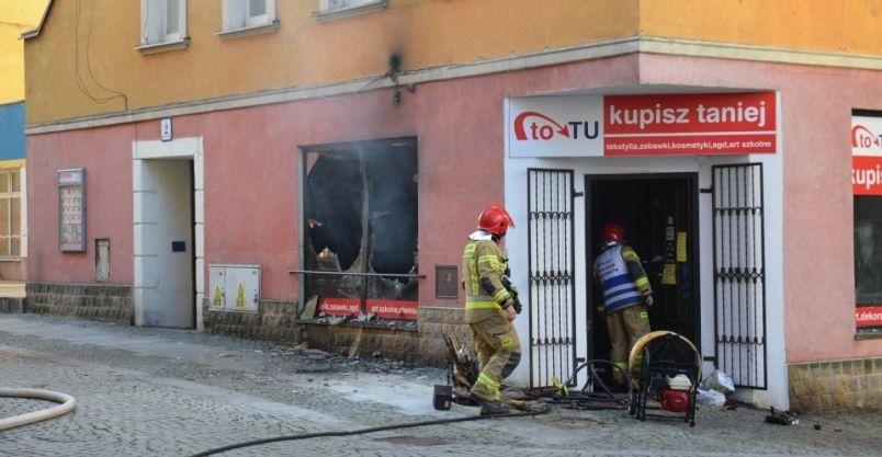 Złotoryja: Butla z gazem była przyczyną wybuchu