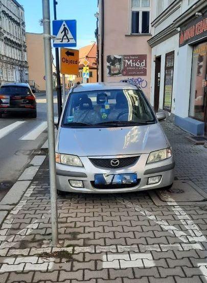 Jelenia Góra: Tak parkować nie wolno