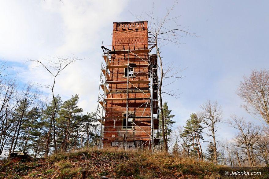 Jelenia Góra: Wieża widokowa z opóźnieniem