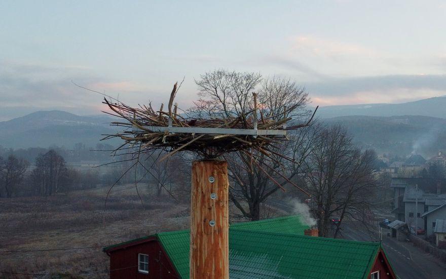 Podgórzyn: Nowy dom dla boćków