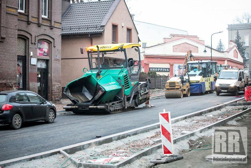 Kamienna Góra: Trwa remont ulicy