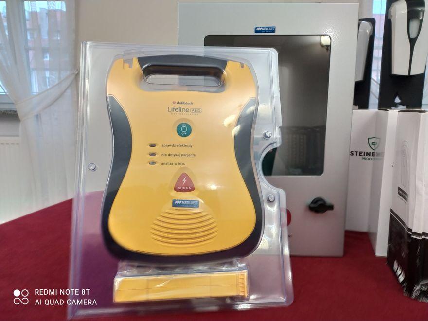 Wleń: Defibrylator kupiony