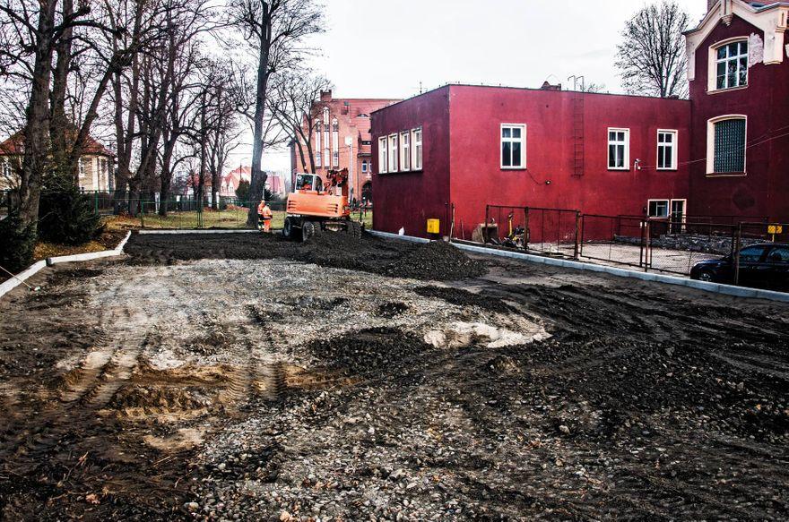 Gryfów Śląski: Miejsca postojowe