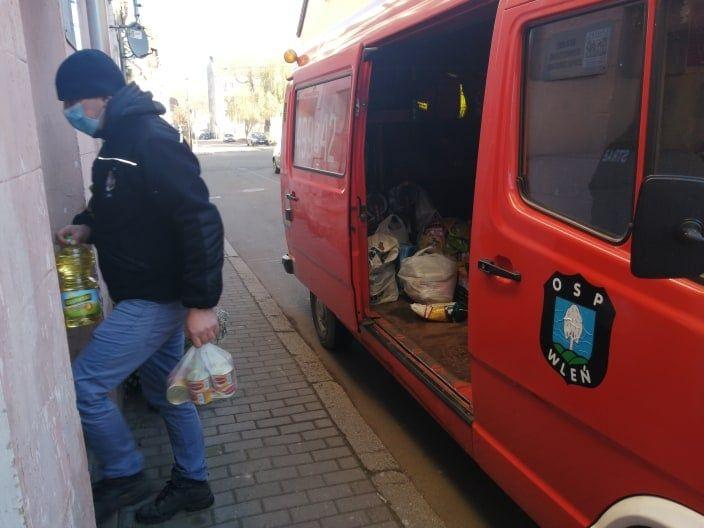 Wleń: Zbiórka żywności