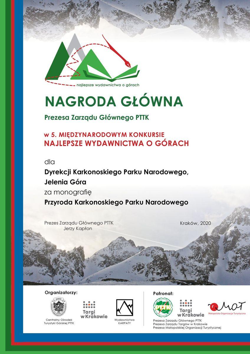 Region: Nagroda dla publikacji KPN