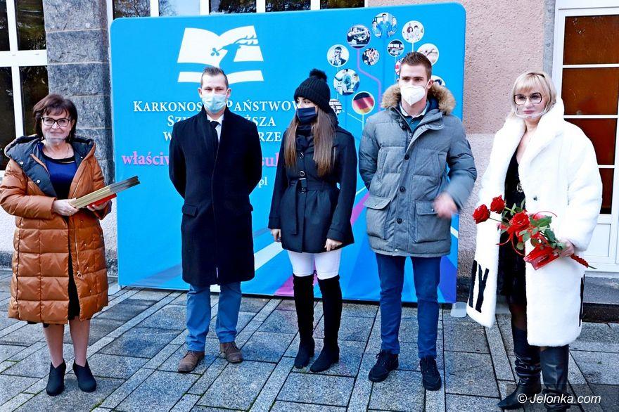 Jelenia Góra: Uczelnia doceniła sukces saneczkarzy