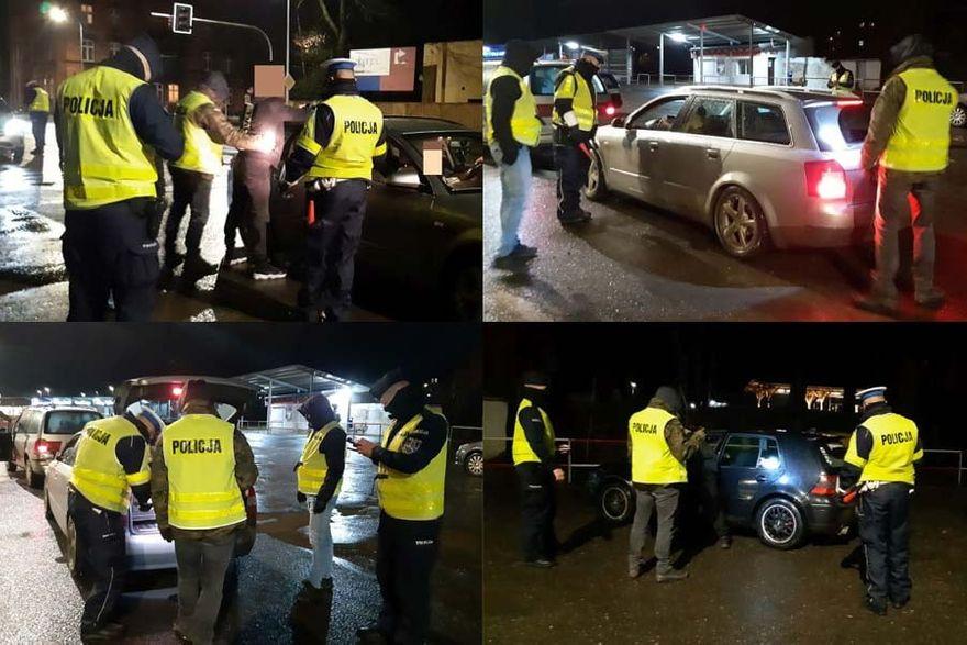 Powiat kamiennogórski: Nocna akcja policji