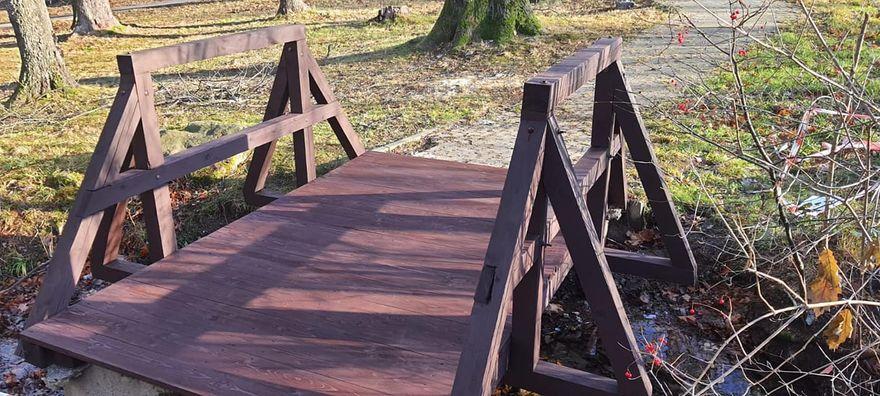 Kowary: Mostek już bezpieczny