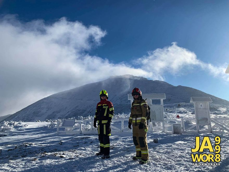Śnieżka: Szpik na szczyt