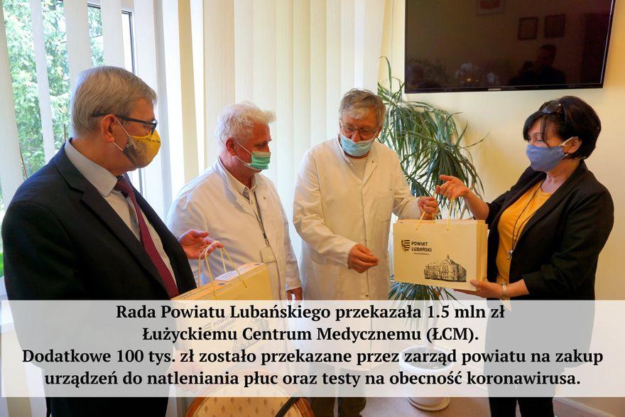 Lubań: Działania mimo wirusa