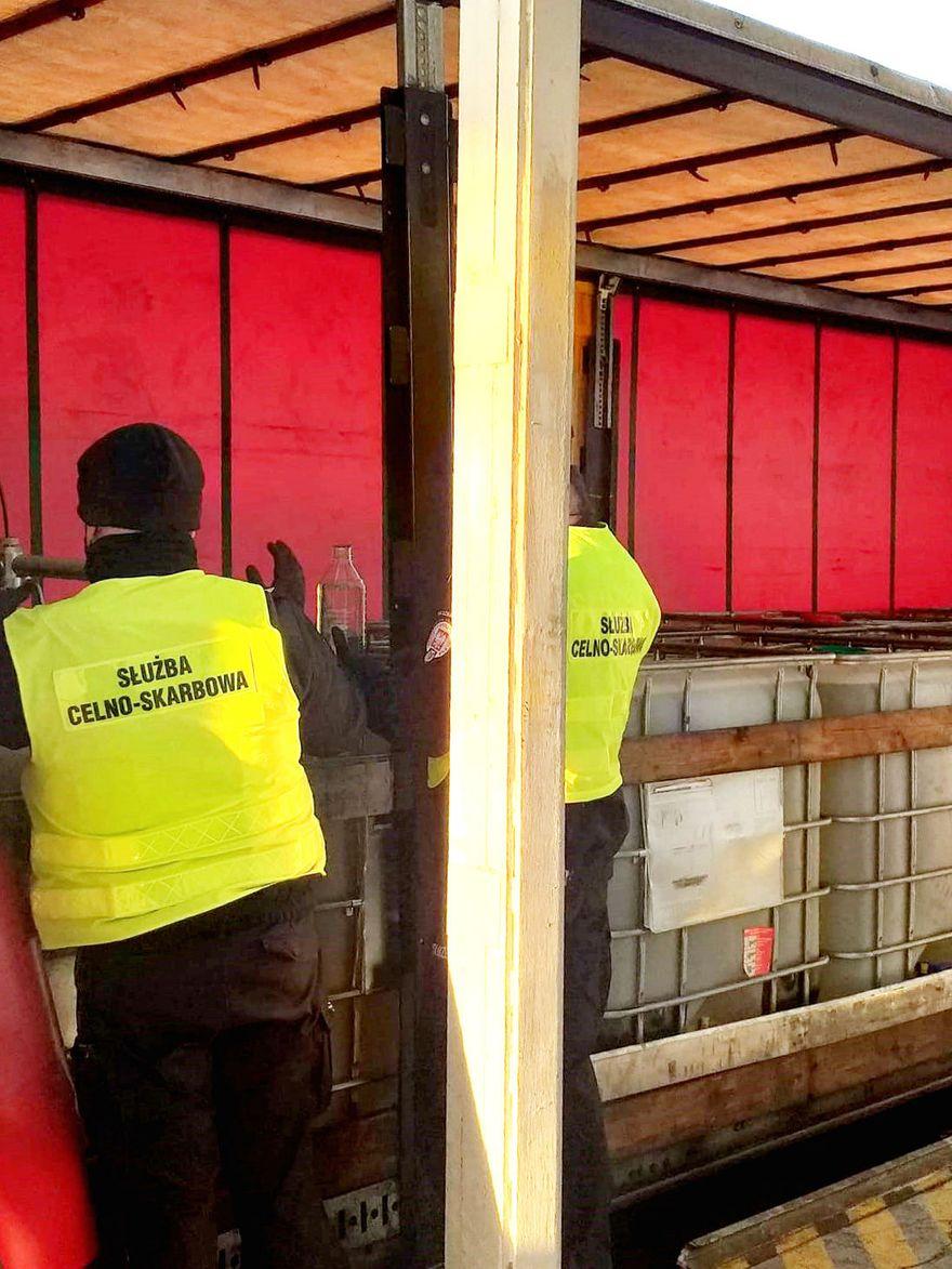 Region: Przejęcie nielegalnych transportów