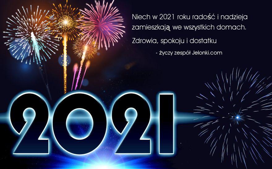 Jelenia Góra: Szczęśliwego Nowego Roku 2021