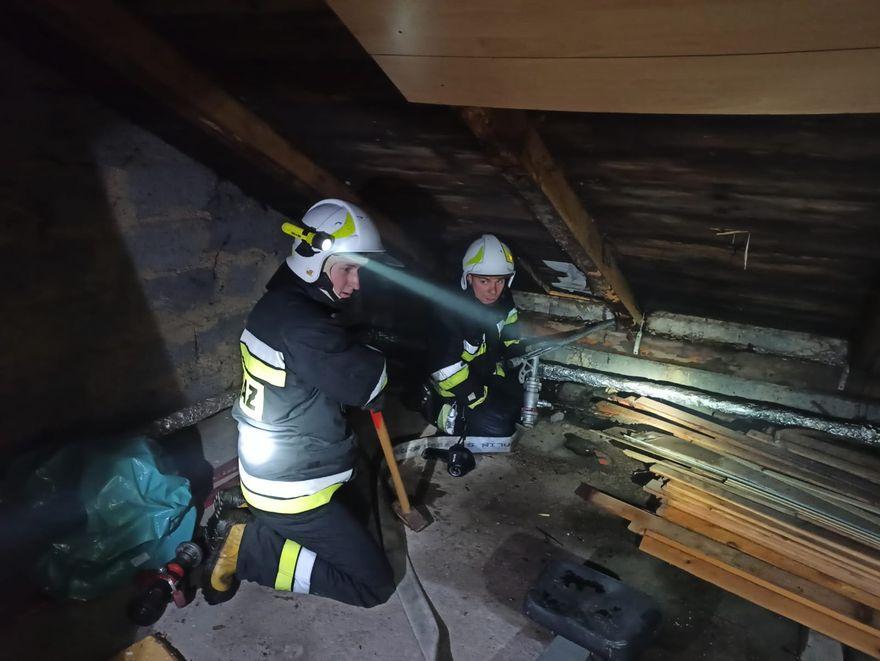 Łomnica: Pożar stolarni w Łomnicy