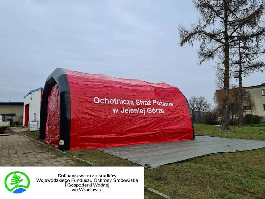 Jelenia Góra: Sprzęt dla OSP Wiejska