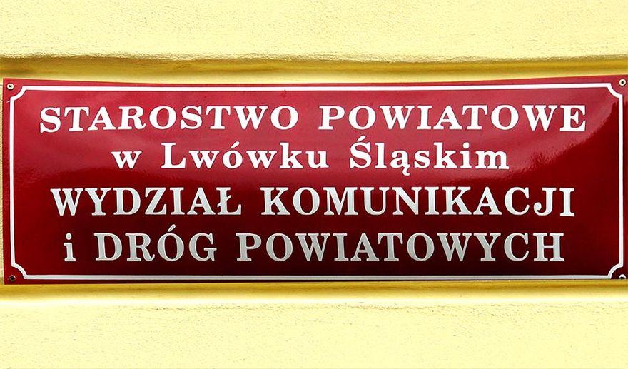 Lwówek Śląski: Wydział komunikacji w Lwówku jest nieczynny