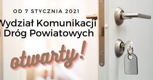 Lwówek Śląski: Wydział komunikacji w Lwówku znów działa