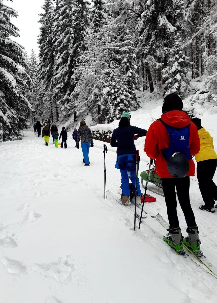 Karkonosze: Pierwszeństwo na szlakach dla pieszych turystów
