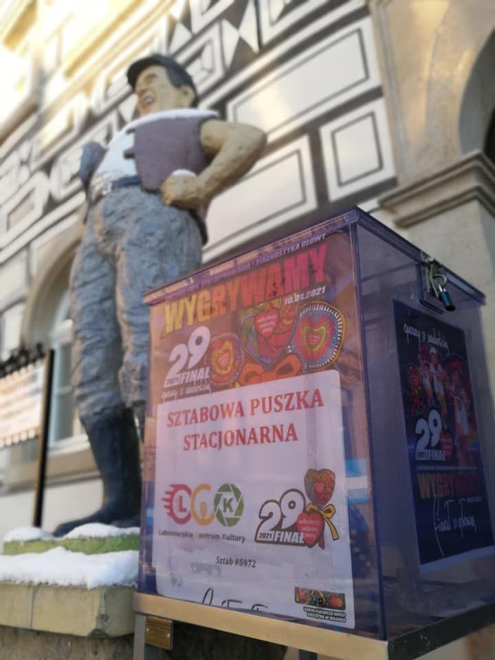 Lubomierz: Stanęła sztabowa puszka