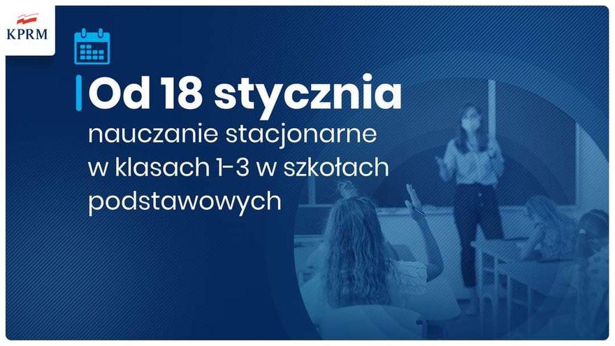 Polska: Namłodsi uczniowie wrócą do szkół