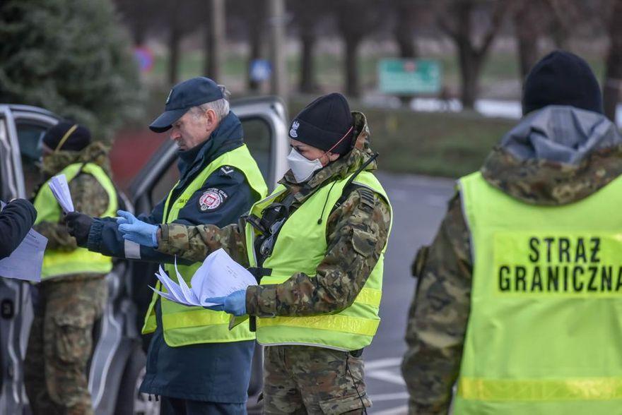 Region: Strażnicy graniczni mieli pracowity rok 2020