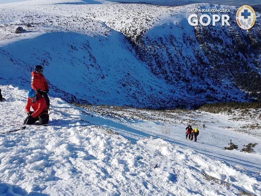 Karkonosze: Mniej wypadków w górach