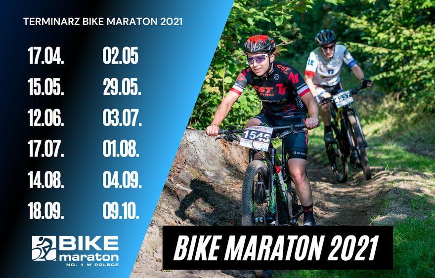 Region/Kraj: Znamy kalendarz Bike Maratonu 2021