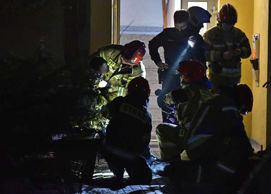 Jelenia Góra: Pożar w mieszkaniu