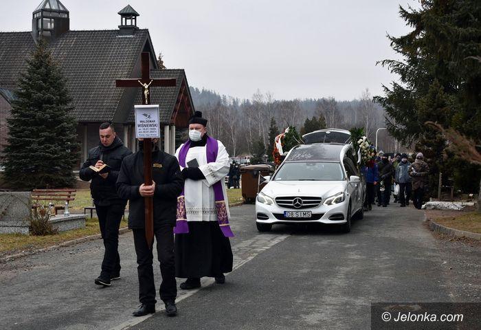 Jelenia Góra: Pogrzeb Waldemara Wiśniewskiego