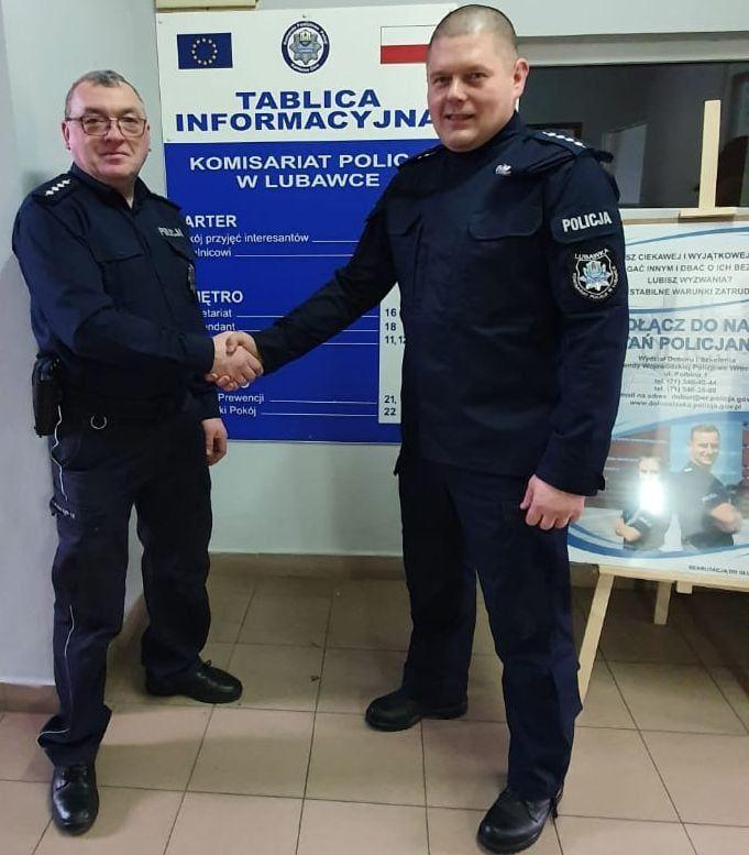 Lubawka: Nowy komendant policji