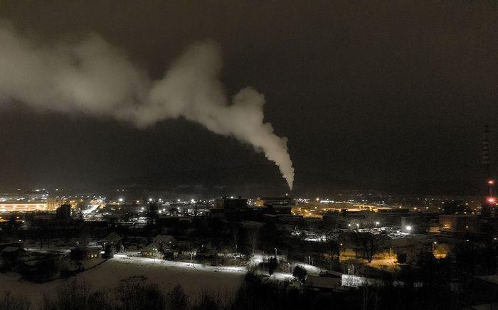 Jelenia Góra: Ten dym nie jest groźny (aktualizacja)