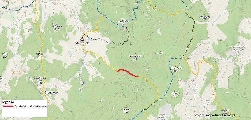 Powiat: Leśnicy czasowo zamykają szlaki