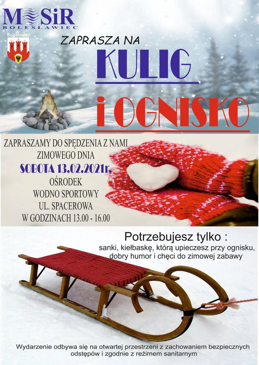Bolesławiec: Kulig z MOSiR–em