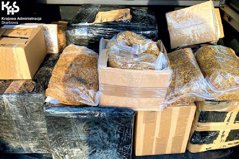 Region: Przesyłki z kontrabandą