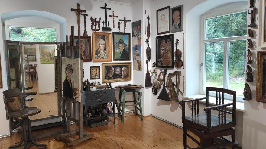 Szklarska Poręba: Unikalna wystawa Wlastimila Hofmana