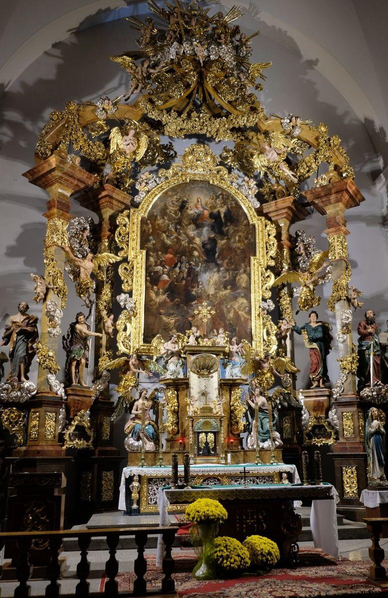 Jelenia Góra: Ołtarz po renowacji