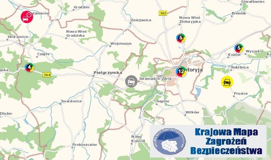 Złotoryja: Na mapie królują śmieci