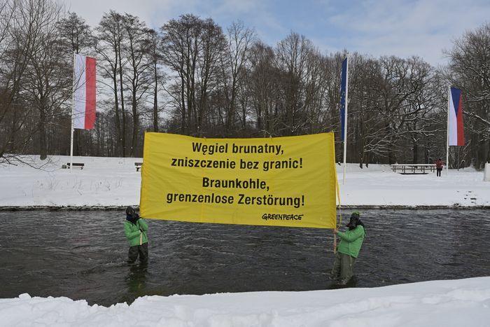 Zgorzelec: Protest na pograniczu