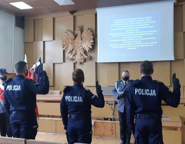 Jelenia Góra: Ślubowanie policjantów