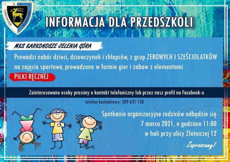 Region: Zaproszenie dla przedszkolaków
