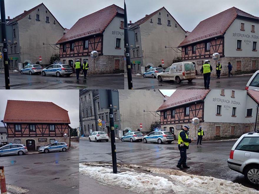 Lwówek Śląski: Samochód potrącił pieszą
