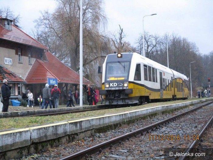 Region: Przejęcie linii kolejowej do Lwówka Śląskiego