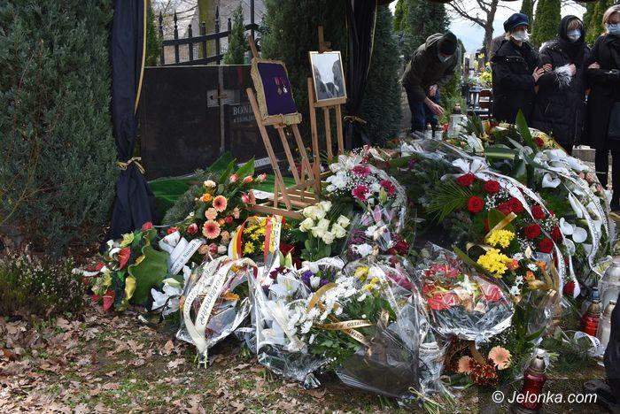 Jelenia Góra: Pogrzeb Andrzeja Szpaka
